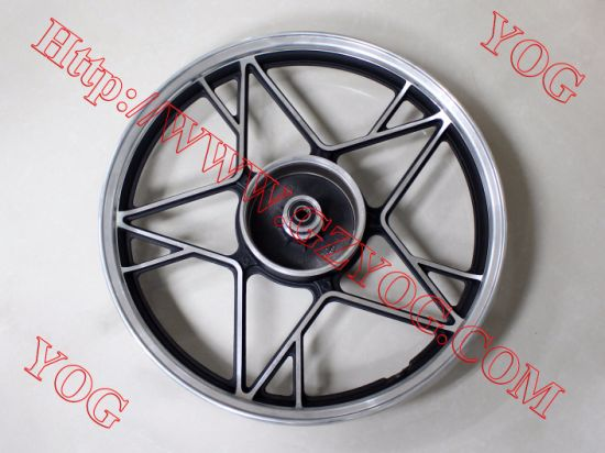 Yog Spare Parts Motorcycle Aluminum Rim Complete Alloy Wheel for Zh 125