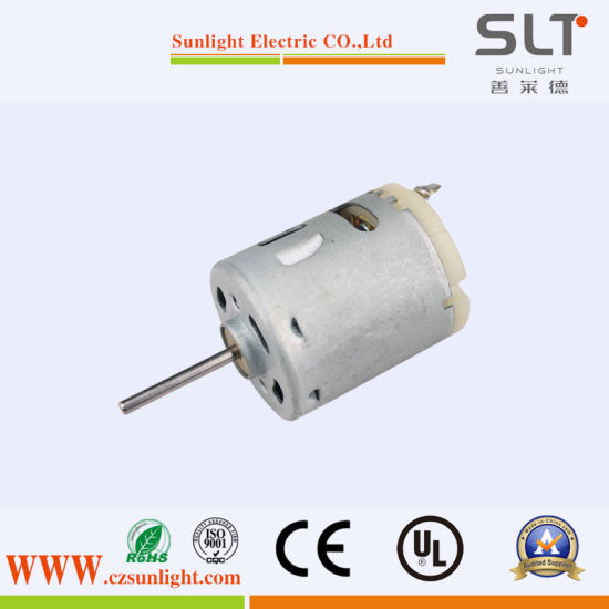 Electric Brushed Pm DC Motor with Adjust Speed pictures & photos