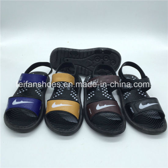 0ba1416a0 Cute Designs Boy Kids Slippers Outdoor Sandals Footwear (FCL1116-009+1)  pictures