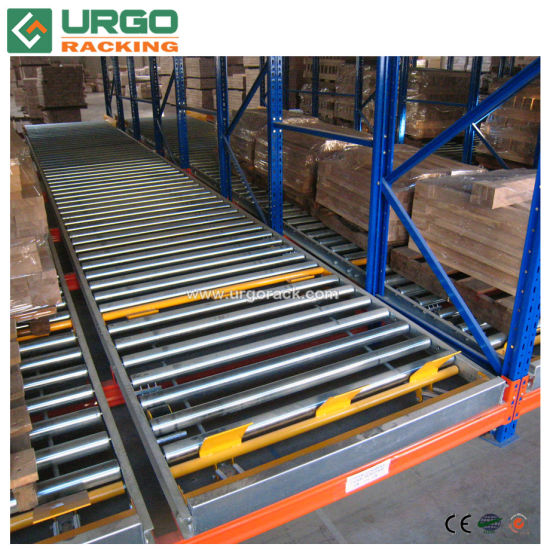 Gravity Flow Racking Gravity Rollers for Pallet Rack