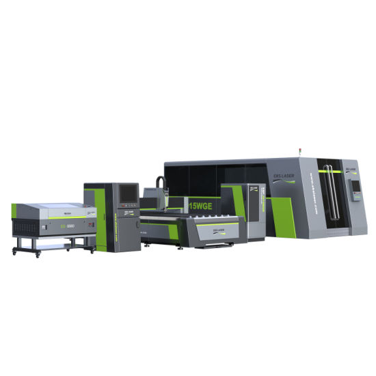Eks-3015D Fiber Laser Cutting and Engraving Machine pictures & photos