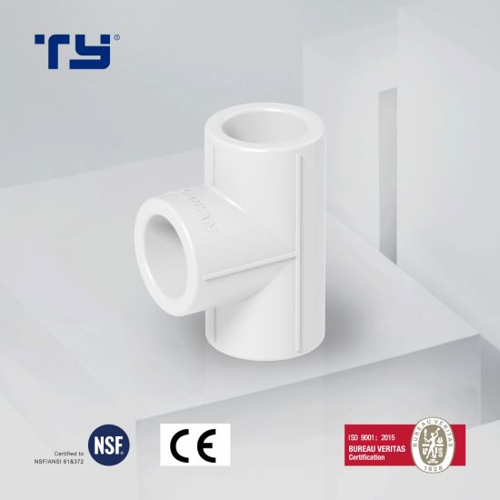 Top Quality White/Green PPR Pipe PPR Hot Water Pipe Fittings