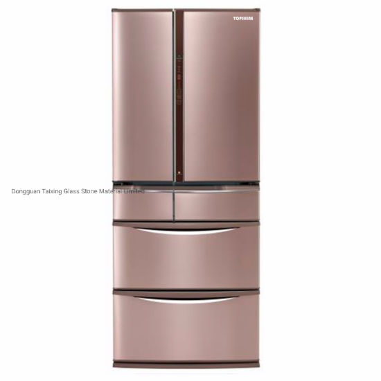 China Colored Painting Glass Fridge Door Manufacturer For Household Appliances With En12150 China Glass Refrigerator Doors And Fridge Slide Glass Door Price