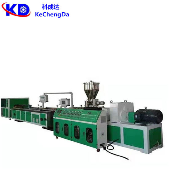 Wholesale Plastic Extruder PVC Window Door Wall Ceiling Wall Panel Cable Wire Trunking Profile Making Machine Line