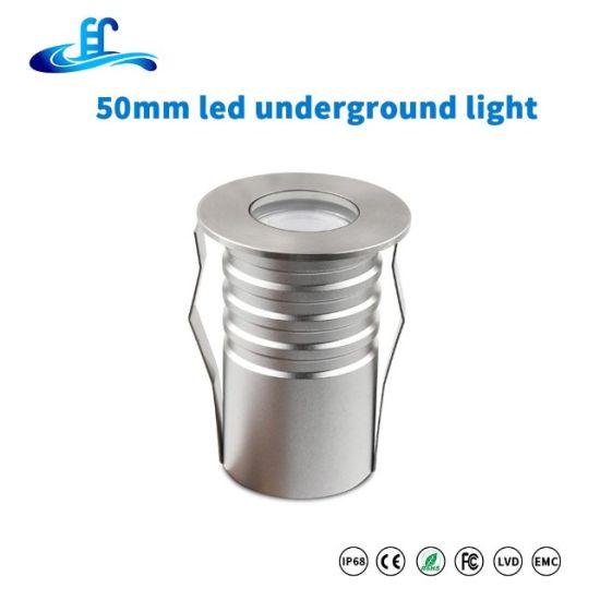 High Quality IP67 White RGB Color 9W LED Outdoor Underground Light Inground Light