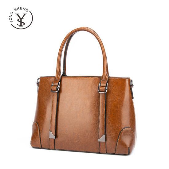 Wholesale Retro Bolsos Cowhide Leather Ladies Mini Tote Bags Crossbody Women Handbags