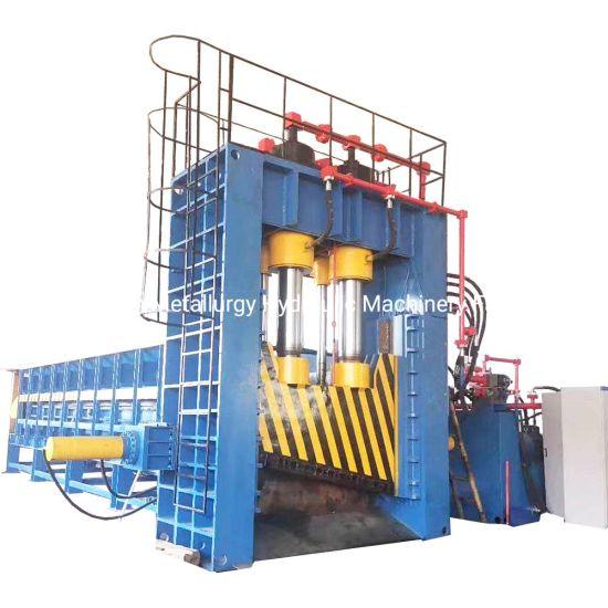 Q91y-400 Heavy-Duty Steel Plate Sheet Metal Gantry Shearing Machine