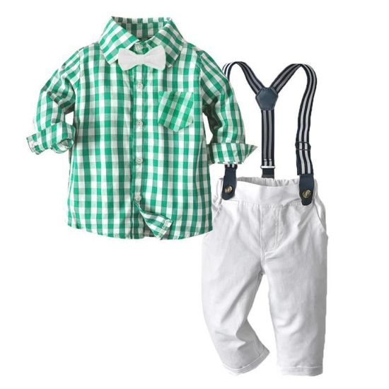 New Fashion Design Boys Clothing Set Baby Clothes for Kids