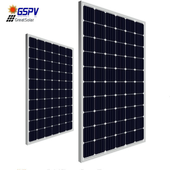 Powerwell 280W Mono Solar Panel, High Quality and Good Performance!