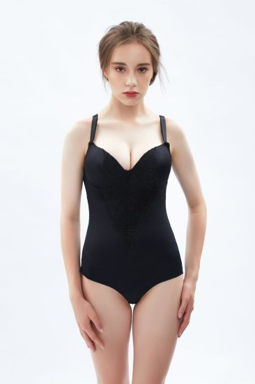 Breathable Invisible Shapewear Slimming Thigh Girdle Full Body Shaper Body Suit