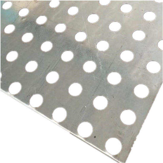 Building Material Galvanized Sheet Plated Perforated Sheet Metal
