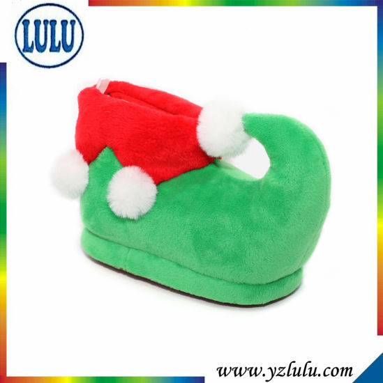 Indoor Cosplay Adult Animal Shoes Sweet Home Cat Stuffed Plush Slipper pictures & photos