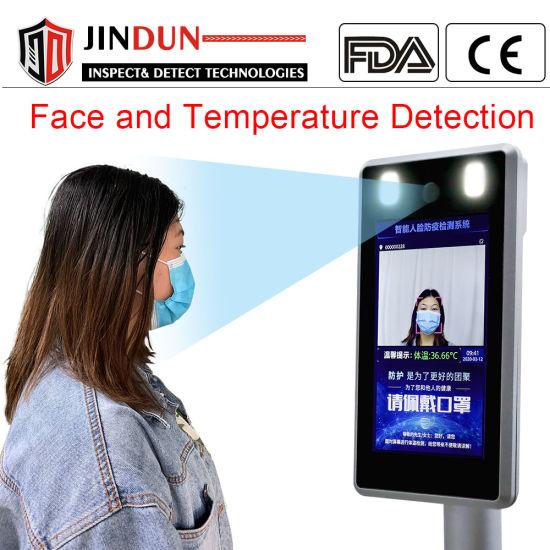 Face Recognition Access Control System Body Temperature Detector Non Contact