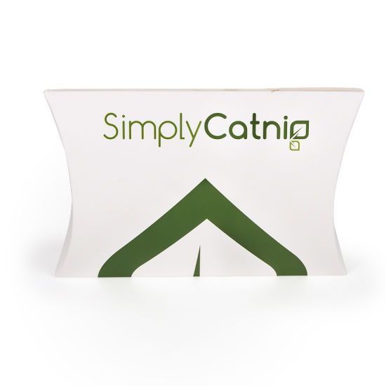 High Quality Custom Pillow Packaging Box with Extended Paper Handle