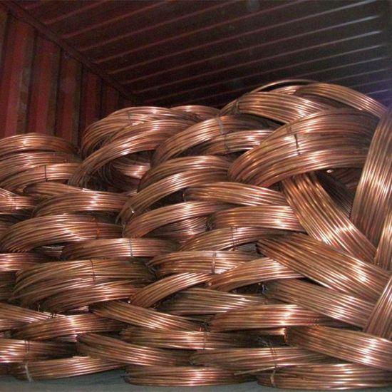 High Quality Cheap Copper Wire Scrap 99.99% Pure Copper Scrap Copper Tube Scrap 99.95 Bright Copper Scrap From China