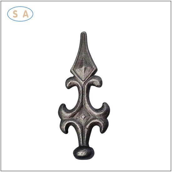 Customized Galvanized Metal Casting Ornament Fence Parts