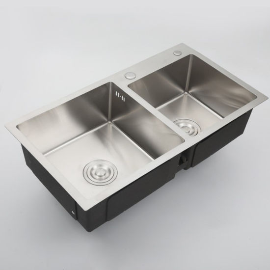 Stainless Steel Double Bowl Vessel Undermount Kitchen Sink China Kitchen Sink Sink Kitchen Made In China Com