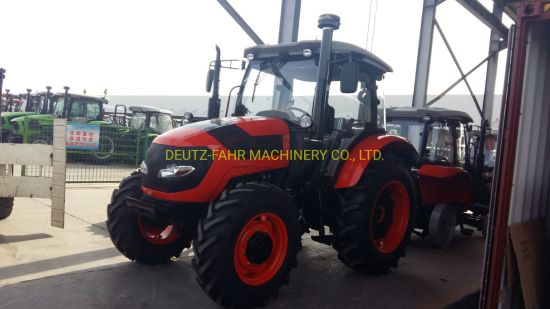 Four Wheels 90HP Hot Sell High Quality Farm Tractor with Cabin and Air Conditioner