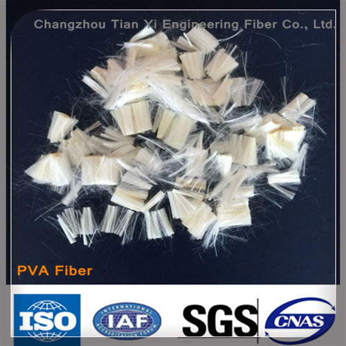 High Strength and High Modulus Polyvinyl Alcohol PVA Fiber Used in Concrete material pictures & photos
