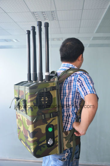 High Power Backpack Cell Phone Signal Jammer for VIP Protection pictures & photos