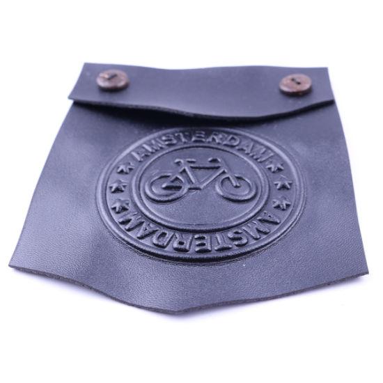 PU Pocket Decoration for Man Jacket