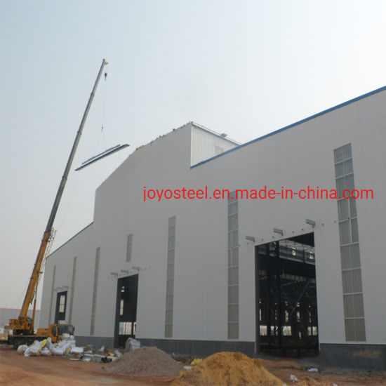 Prefab Cold Storage Warehouse with Good Insulation Wall Panel
