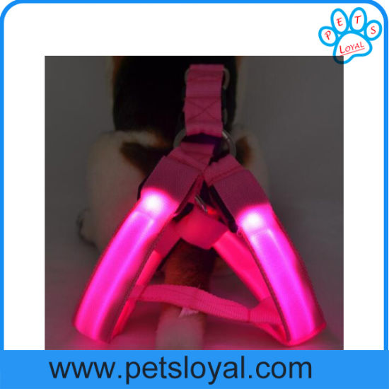 Factory Pet Accessories Rechargeable LED Pet Dog Harness pictures & photos