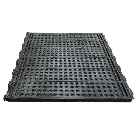 Pig/Sheep/Goat Cast Iron Slat Floor for Pig Farrowing Crate
