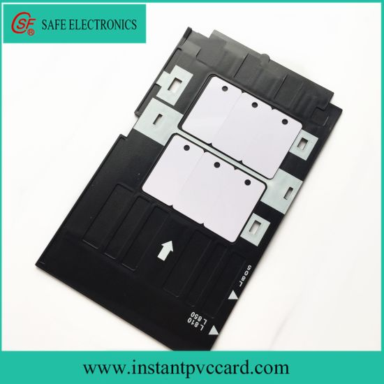 Inkjet PVC Card Tray for Epson R260 Printer