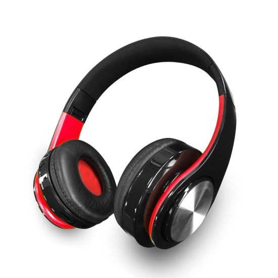 Cheap Wireless Music Headphone, Bluetooth Stereo Headset, Sport Earphone with MP3 FM Radio Player pictures & photos