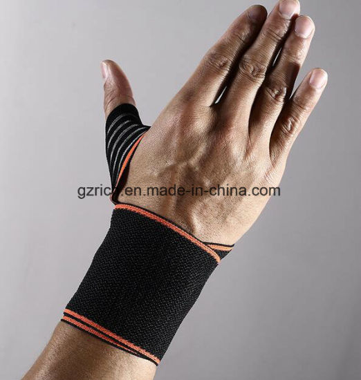 Fitness Bandage Hand Wrist Straps Sport Wristbands Support Wrist Protector pictures & photos