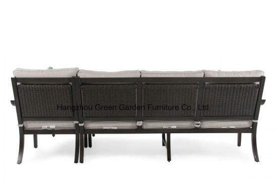 Pleasant China Patio Furniture Garden Modular Sofa Set With Ceramic Spiritservingveterans Wood Chair Design Ideas Spiritservingveteransorg