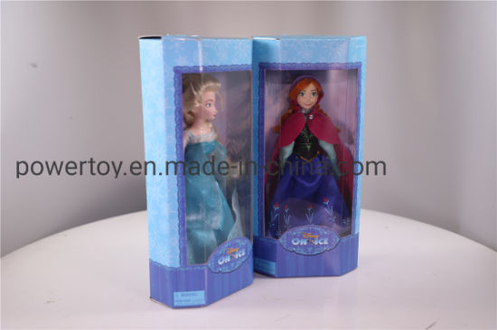 Pretty Frozen Princess Toy Plastic Girl Set pictures & photos