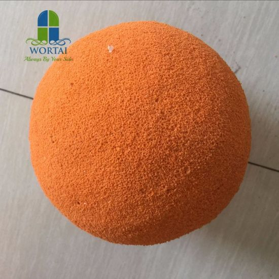 Excellent Quality Rubber Sponge Ball for Cleaning Concrete Pump Pipe Made in China