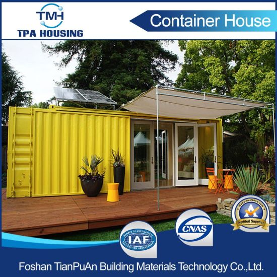Low Cost Fast Food Shipping Container House For Sale