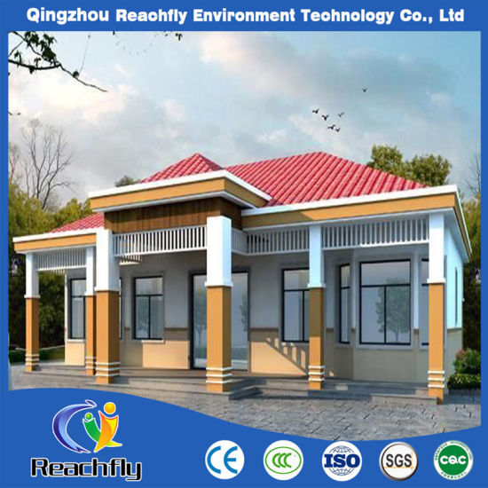 Modern Prefabricated Light Steel Structure House in Factory