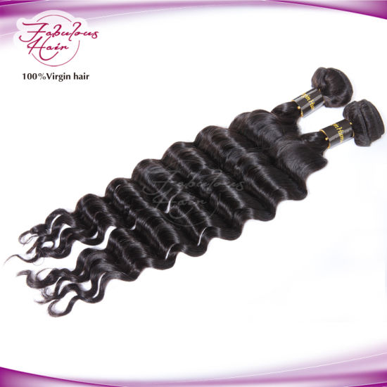 Factory Price Loose Body Wave Original Brazilian Hair Extension pictures & photos