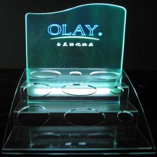 Countertop Clear Acrylic Display Stand Store Exhibition Display Stand