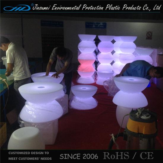 PE Material Rotational Moulding Plastic Bar Table