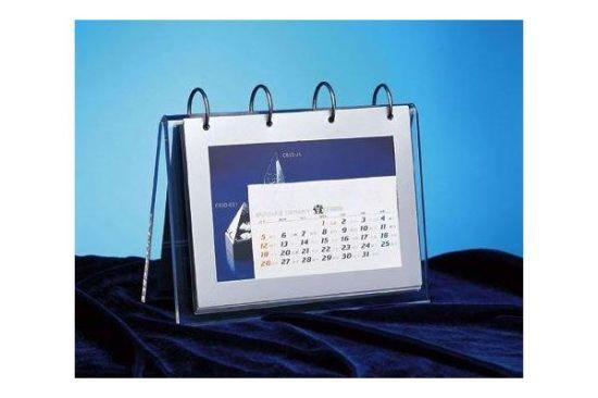 custom creative color desk acrylic calendar display stand islamic calendar 2018