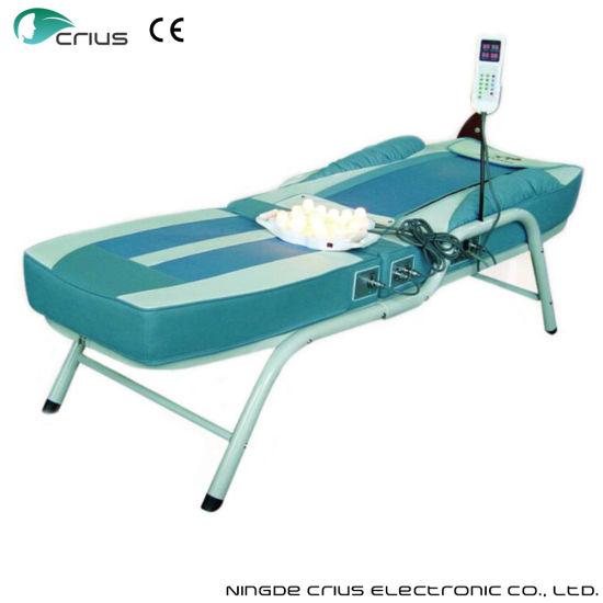 Used Beauty Salon Jade Massage Bed Table
