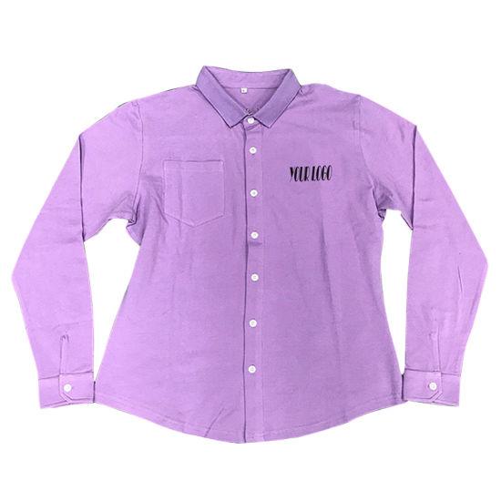 Healong Sport Apparel Sublimated Printing Polo Long Sleeve Men's Custom Polo T-Shirts