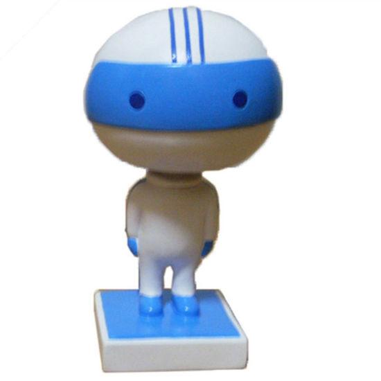 New Design Resin Robert Craft Doll Bobble Head for Kid
