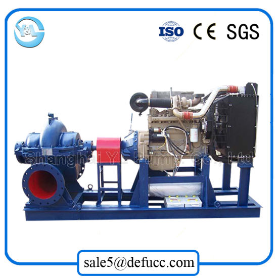 588kw Power Large Flow Diesel Engine Split Case Water Pump pictures & photos