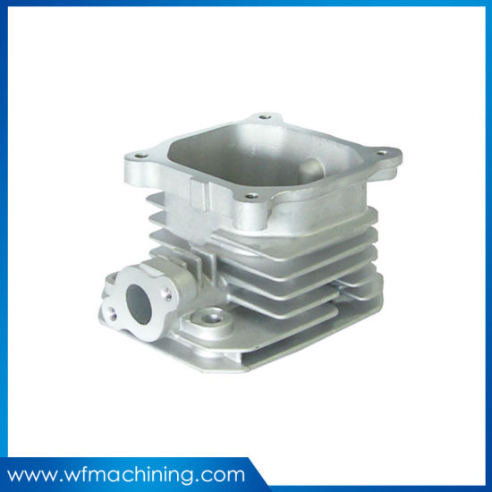 Cast Aluminum Alloy Die Casting Auto Engine Parts with Customized Service