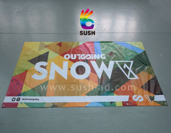 Outdoor Customized Printing Advertising Vinyl PVC Banner Digital Printing (SS-VB22) pictures & photos