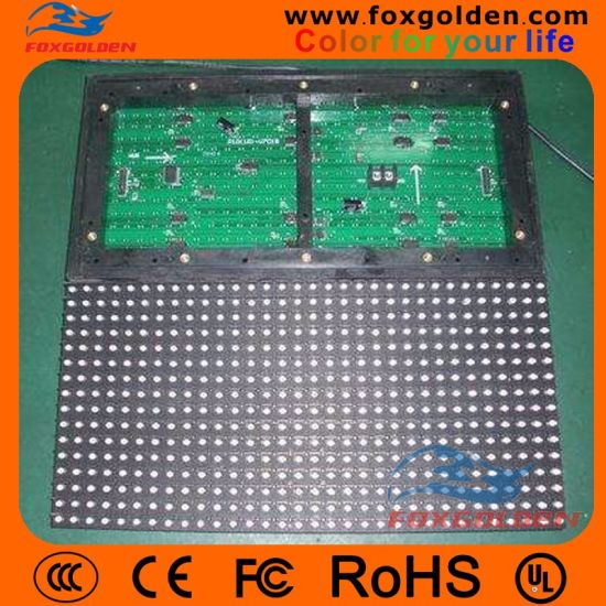 Single Color P6 Indoor LED Module Indoor Light Weight