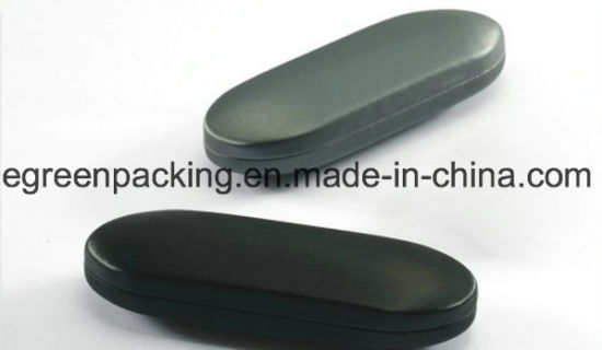 High Quality Eyeglasses Case Iron Case Covered PU Leather (MGD3) pictures & photos
