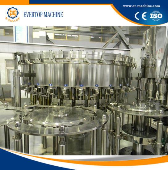 Automatic Soda Plastic Bottle Filling Machine pictures & photos