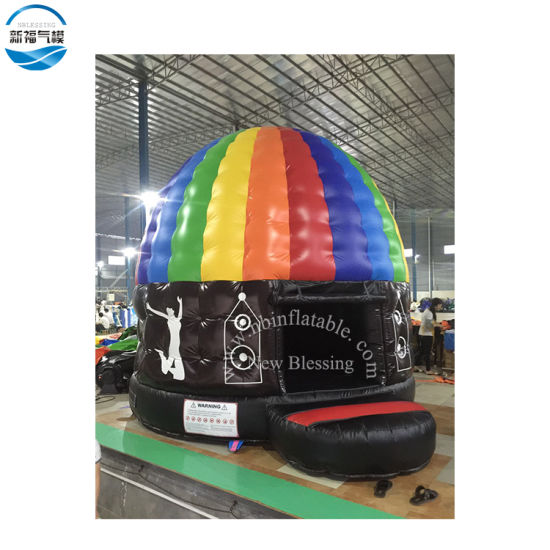 OEM Inflatable Disco Bouncer for Music Club Amusement Equipment pictures & photos